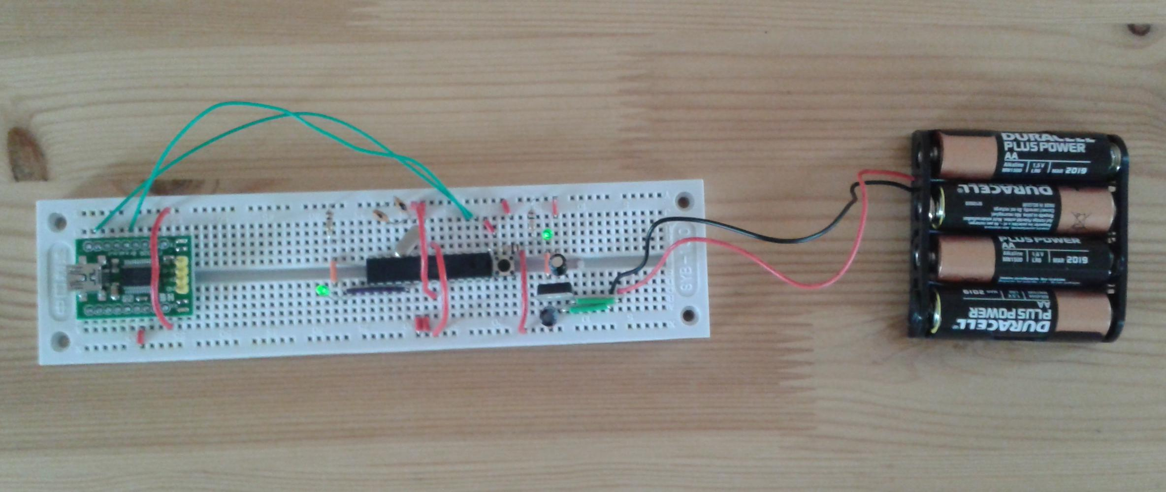 An Arduino build from components