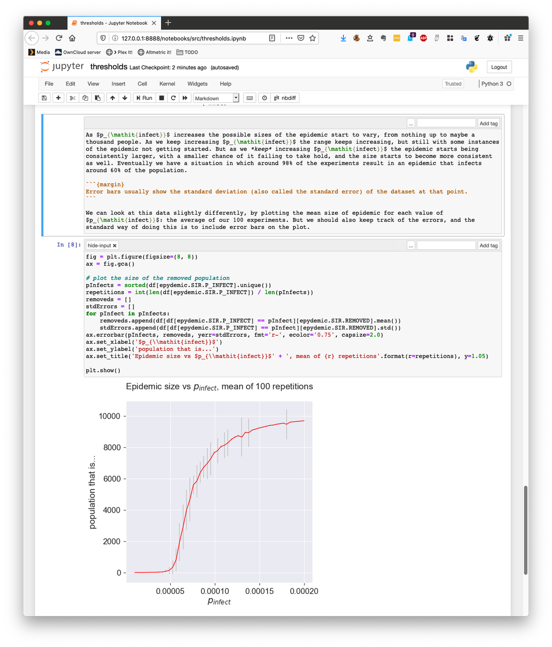 Jupyter in action